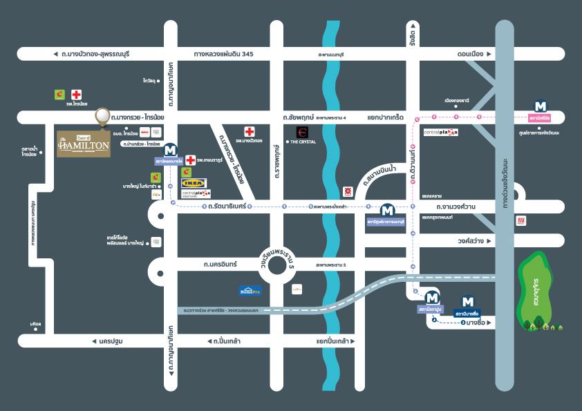 DLAN GROUP บริษัท ดี-แลนด์ กรุ๊ป จำกัด MAP BDH 01