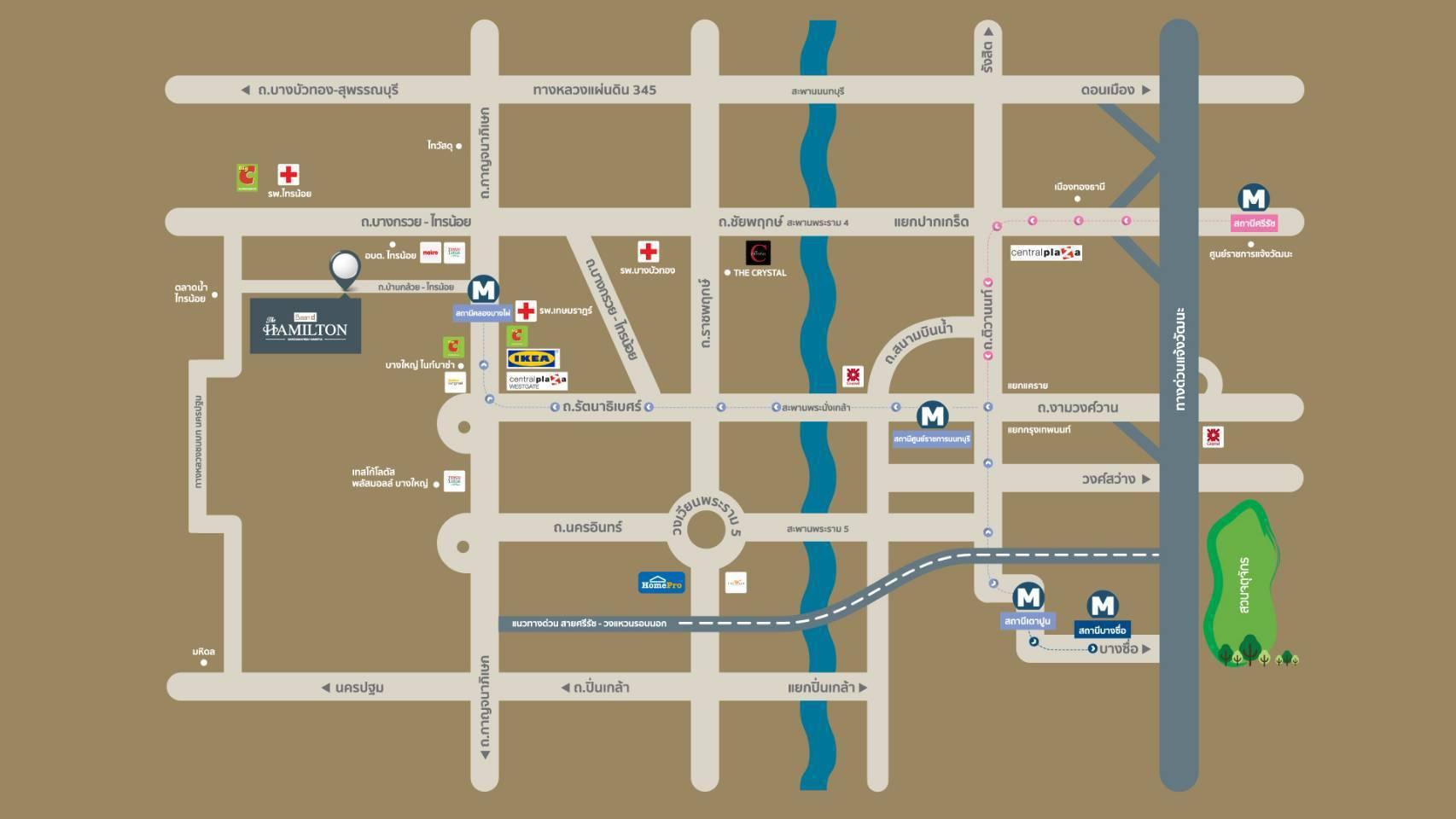 DLAN GROUP บริษัท ดี-แลนด์ กรุ๊ป จำกัด MAP BDH 02